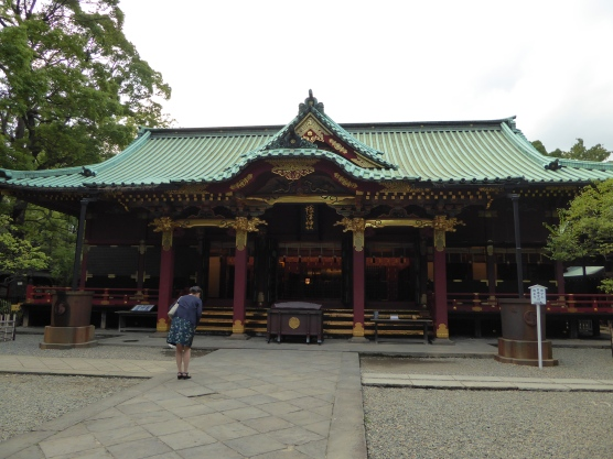 Main Hall of Nezu Shrine (Hai-den)