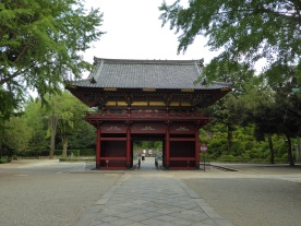 Romon Gate of Nezu Shrine