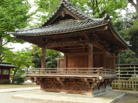 Kagura-den of Nezu Shrine